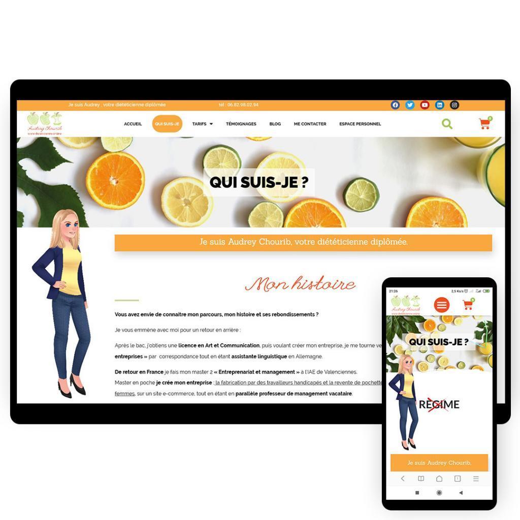 création site internet bien-être